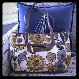 Spartina Large Floral Handbag